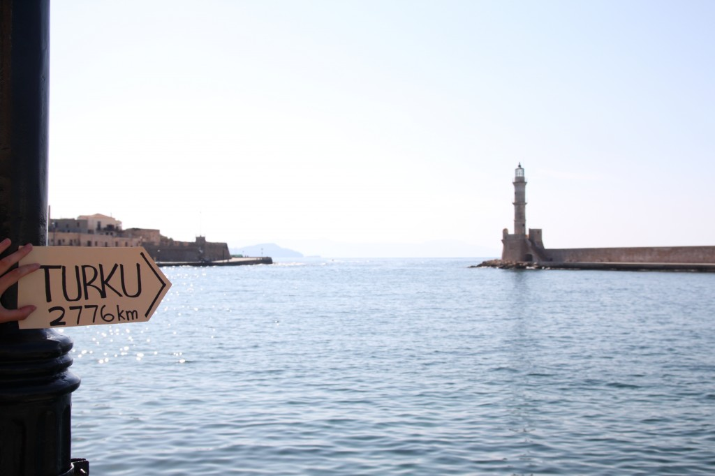 City of Chania, Crete, Greece